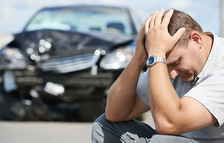 Risk of chronic pain high after auto collision